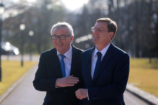 obisk predsednika Evropske komisije Junckerja - 2
