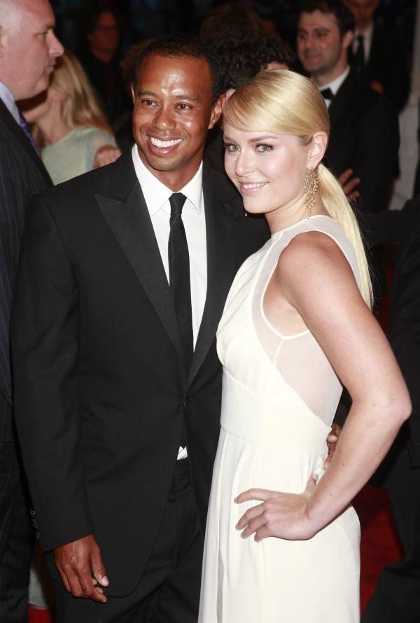 Tiger Woods in Lindsey Vonn - 1