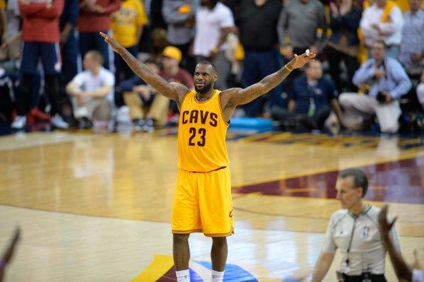 Cleveland Cavaliers LeBron James