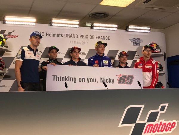 Nicky Hayden dirkači