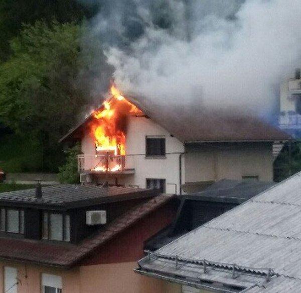 Požar Idrija