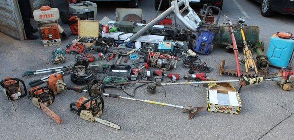 Zaseženi ukradeni predmeti