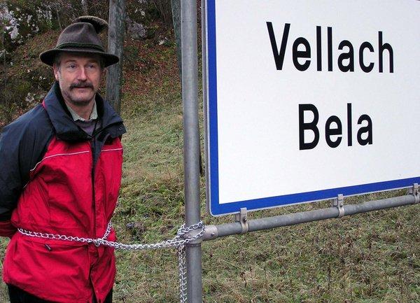 tabla Bele in obcinski predstojnik EL zb. sv. Franc Jozef Smrtnik