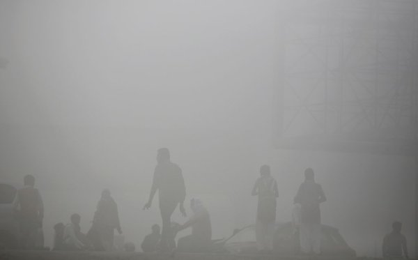 Onesnažen zrak v New Delhiju - 3