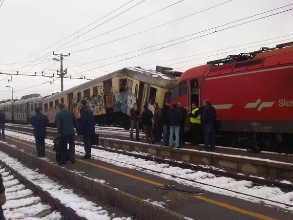 Trčenje vlakov