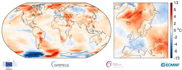 Povprečna temperatura v septembru