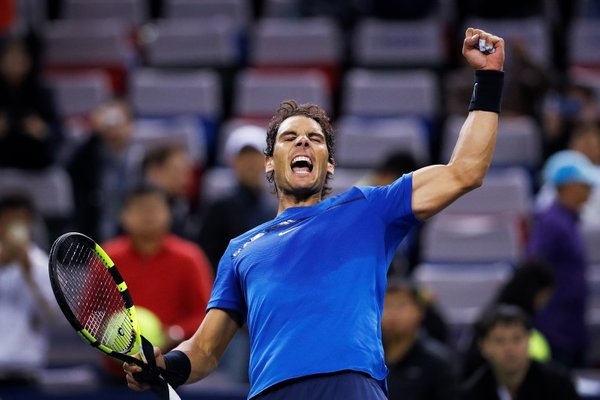Rafael Nadal masters Šanghaj