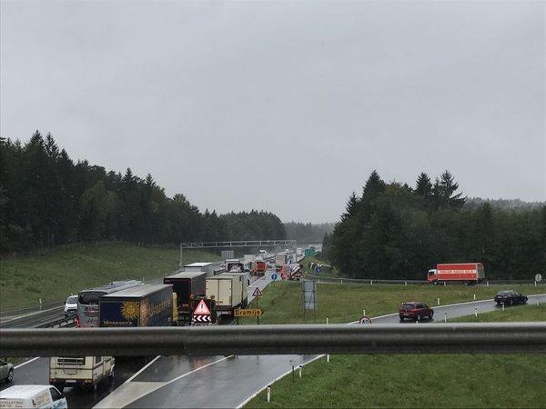 Prometna nesreča pri izvozu Dramlje - 1