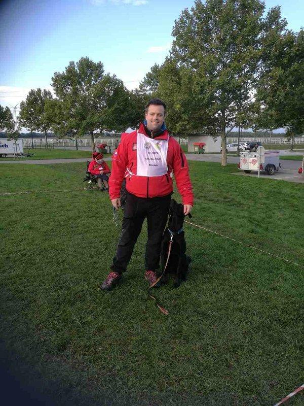 Svetovni podprvak Sebastijan Strašek s psom Thorom