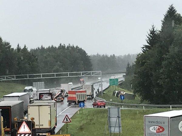 Prometna nesreča pri izvozu Dramlje - 3
