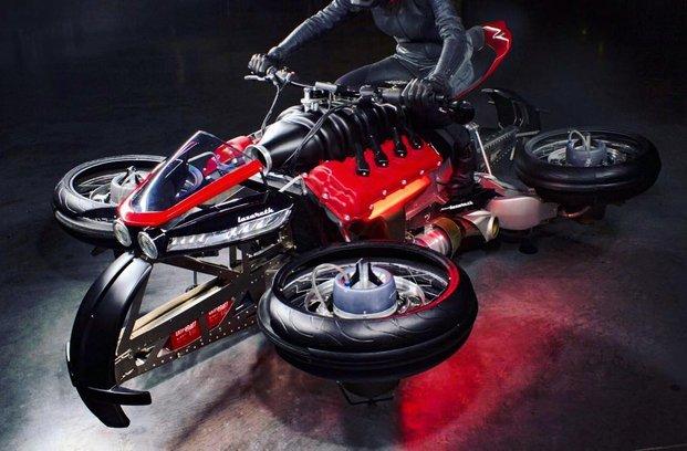 Lazareth Moto Volante – prvi leteči motocikel že kmalu na cestah?