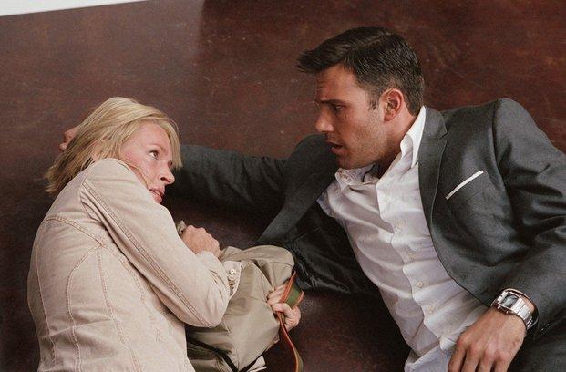 Nerazpoznavni Ben Affleck se seli nazaj k ženi
