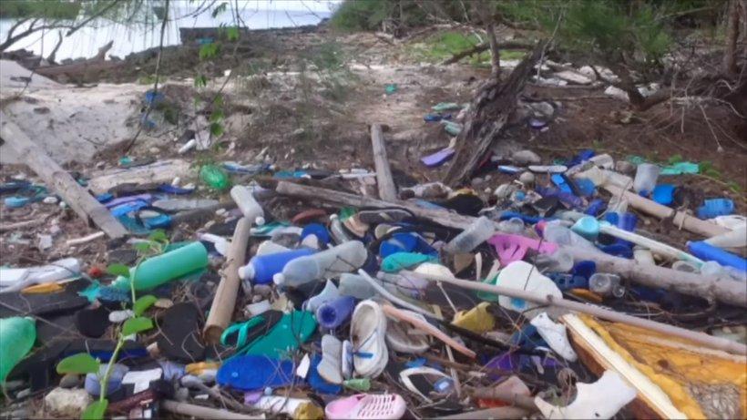 Plimovanje morja zanese plastiko tudi na najbolj odročne in osamljene otočke.
