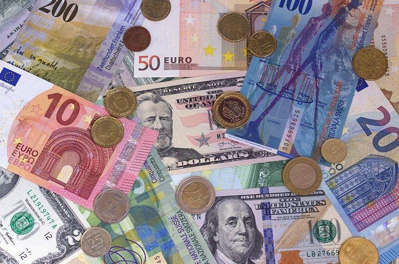 Švicarski franki in evri