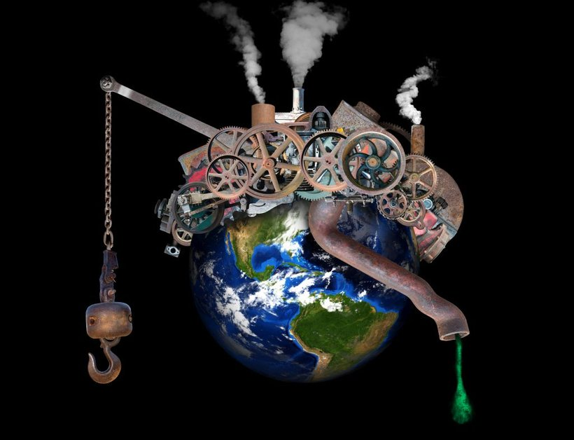 Onesnaževanje Zemlje