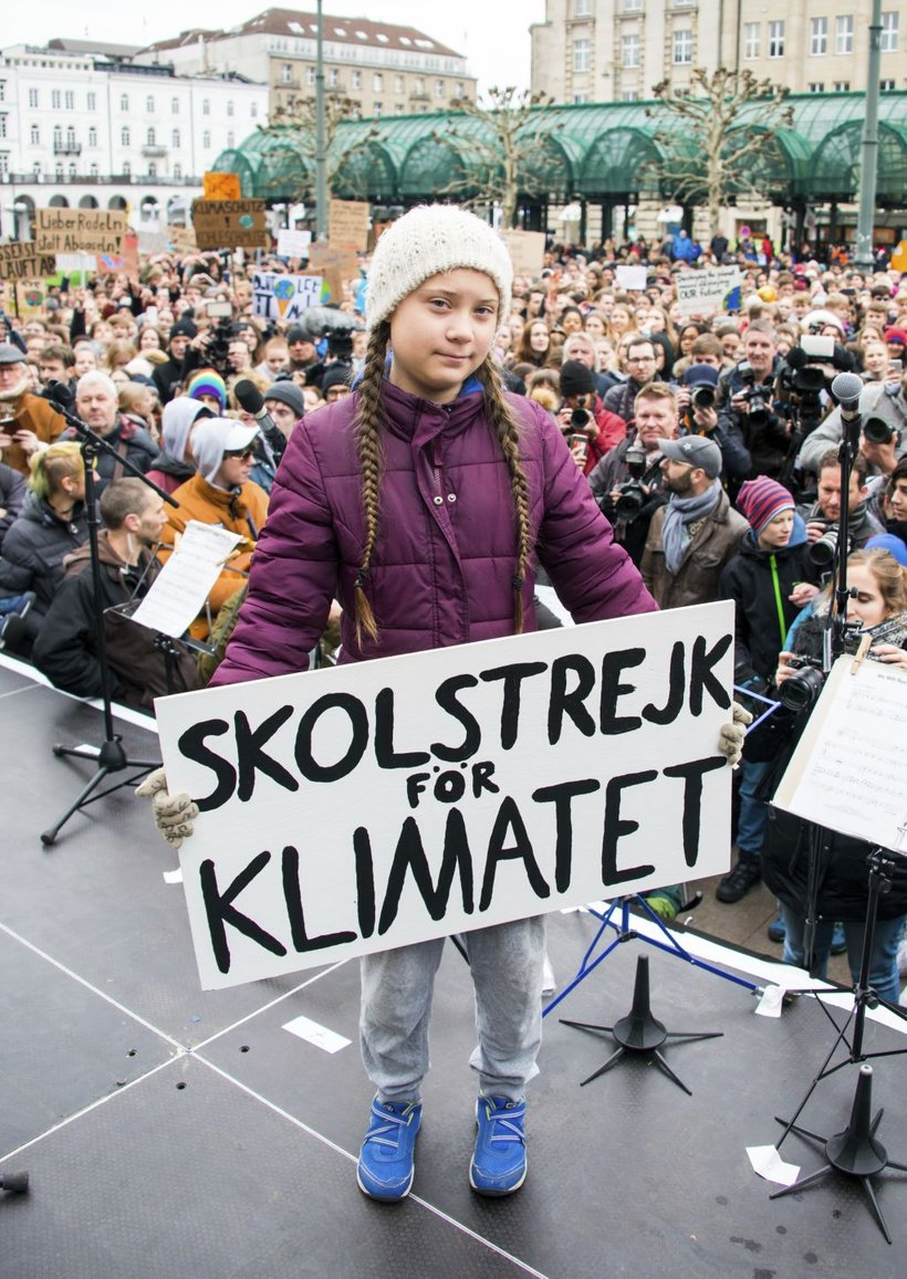 Greta Thunberg je bila na prvem šolskem štrajku za podnebje sama, zdaj ji sledi na desettisoče otrok in mladostnikov.
