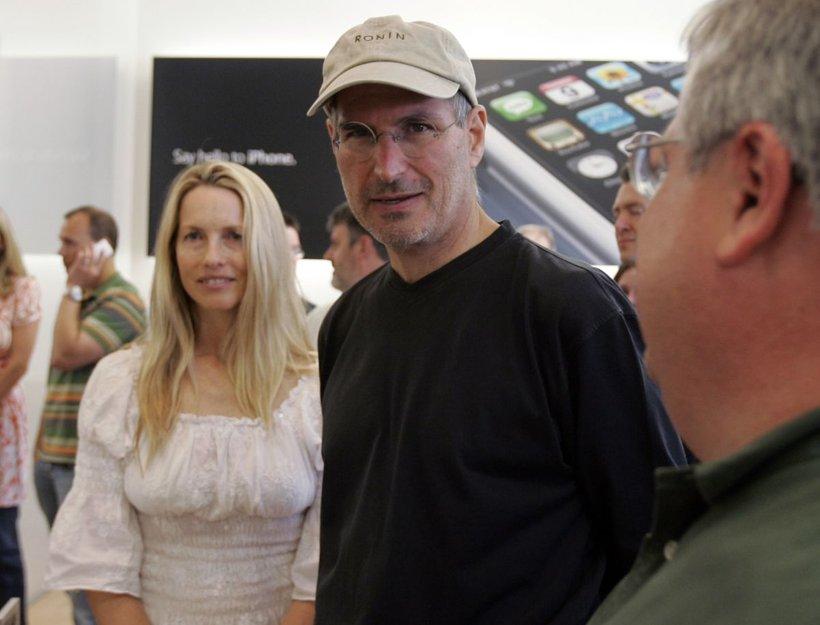 Laurene Powell in Steve Jobs
