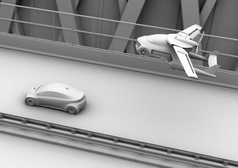 V Parizu razmišljajo o uvedbi letečih avtomobilov v javnem potniškem prometu.