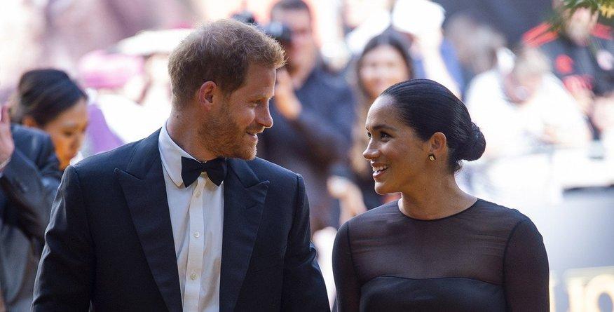 Meghan Markle delila ganljivo sporočilo posvečeno princu Harryju