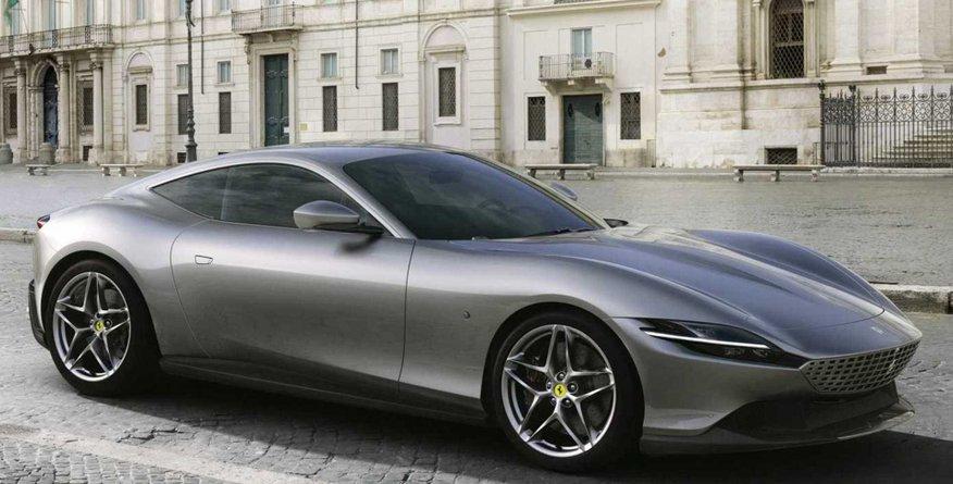 Ferrari, ki zbuja nostalgične spomine in prikliče boljše čase
