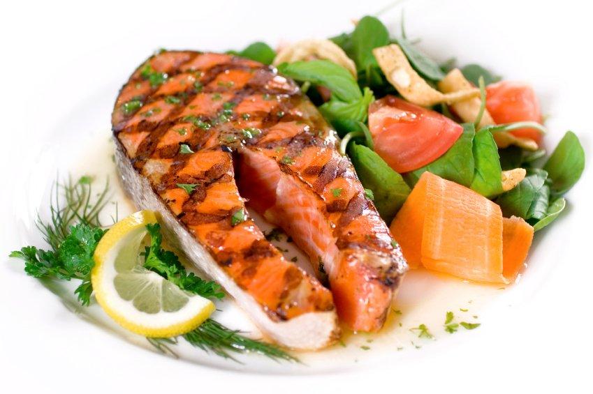 Losos je odličen vir omega 3 kislin.