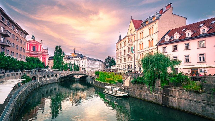 Čudovita Ljubljana.