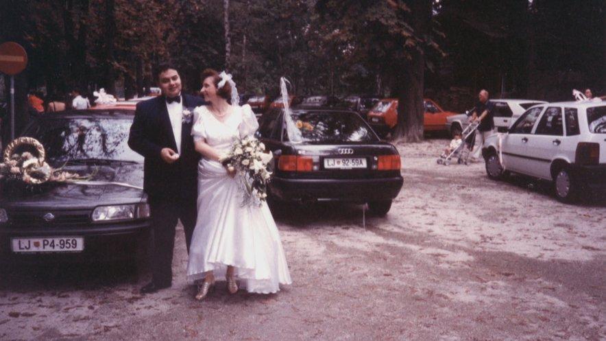 Helena in Karim sta praznovala 25. obletnico poroke.