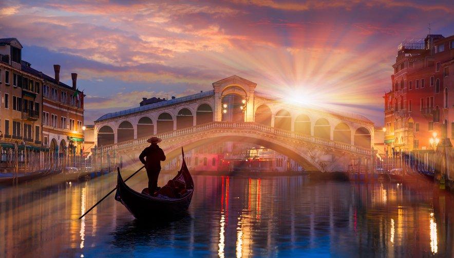 Romantične Benetke so vedno dobra izbira za krajši oddih.
