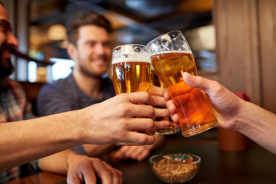 Tveganje pa je enako ne glede na vrsto alkohola.