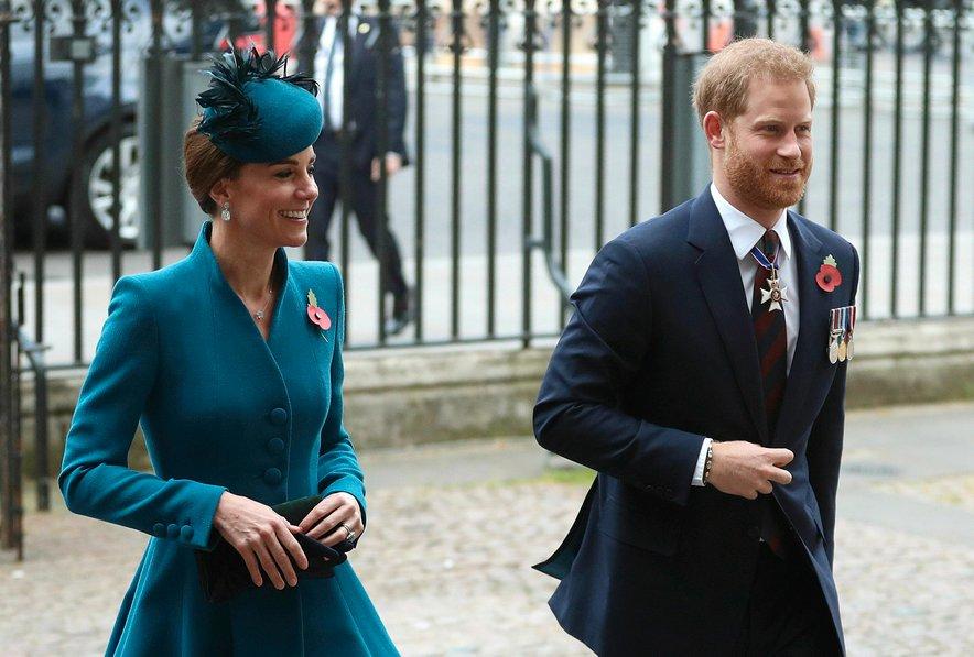 Kate Middleton in princ Harry