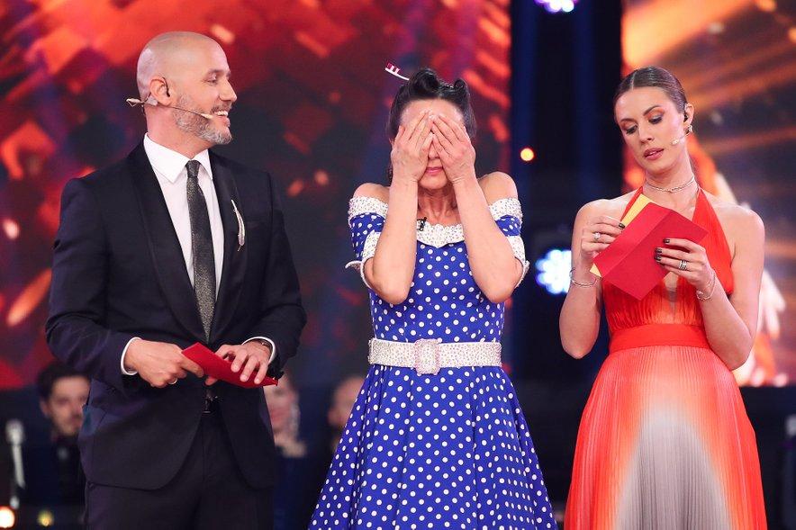 Tina Gorenjak je Miho Vodičarja zamenjala za drugega Miho, tokrat Perata, ki sicer pleše s Špelo Grošelj.