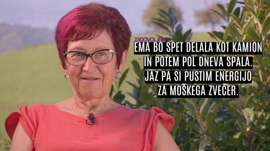 Irena je samozavestna in v Rasemi ne vidi nobene konkurence.