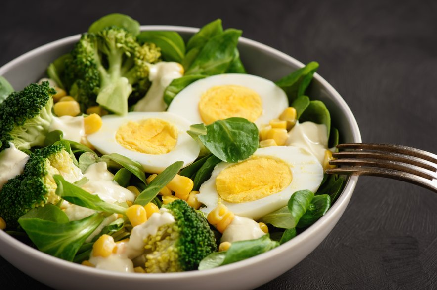 Trdo kuhana jajca so polna pomembnih hranil.