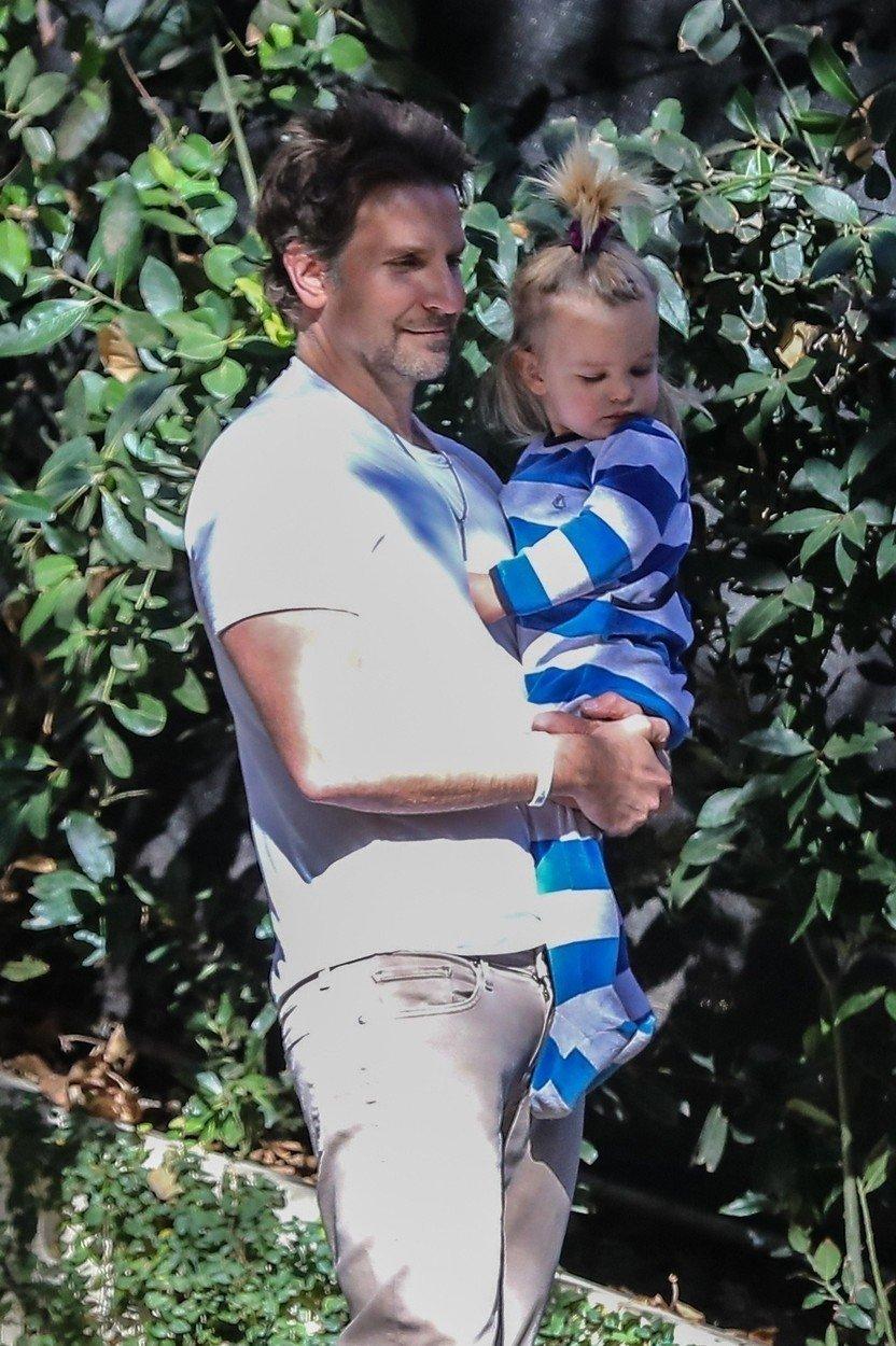 Bradley Cooper s hčerko
