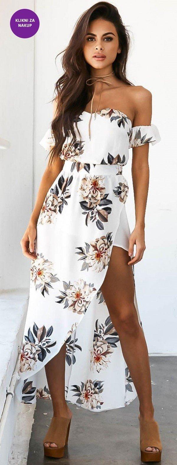 maxi obleka