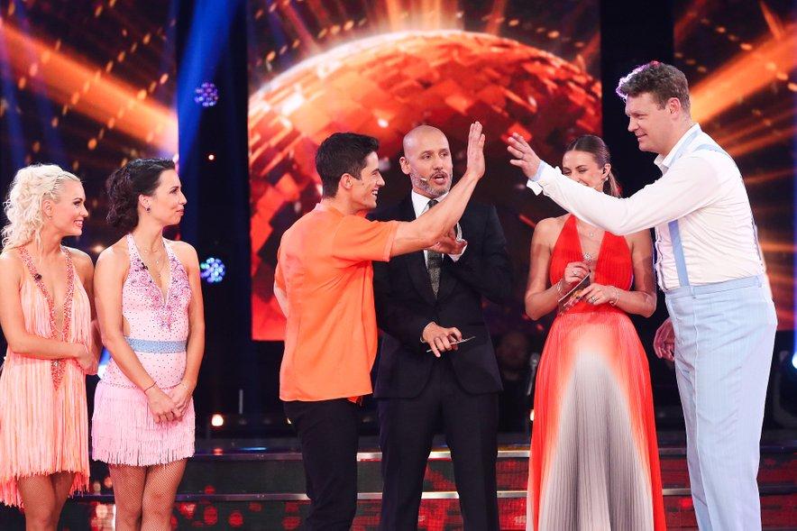 Franko Bajc in Miha Zupan sta edina preostala tekmovalca.