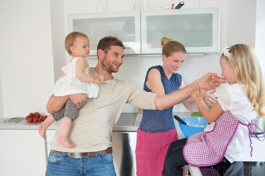 Ni lepšega, kot družinsko veselje v kuhinji.