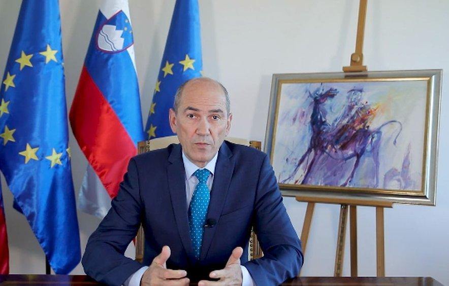 Ali bo dve milijardi evrov poroštev zadoščalo, ostaja neznanka, je povedal premier Janez Janša.