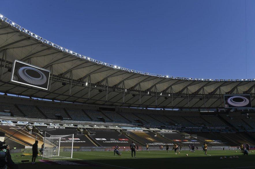 Stadion Maracana v Riu de Janeiru.