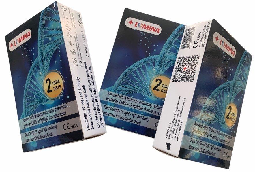 Testi na protitelesa za covid-19