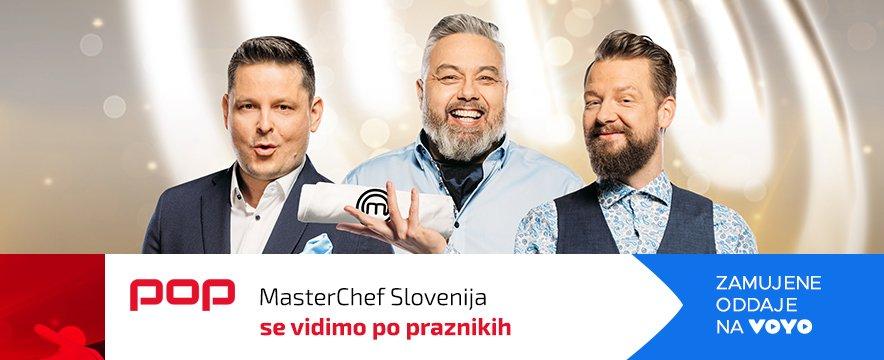 MasterChef Slovenija pasica prazniki