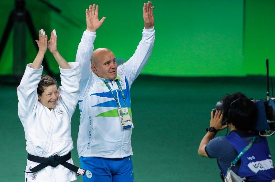 Tina Trstenjak in Marjan Fabjan. Bodo judoisti prinesli medalje tudi iz Tokia?