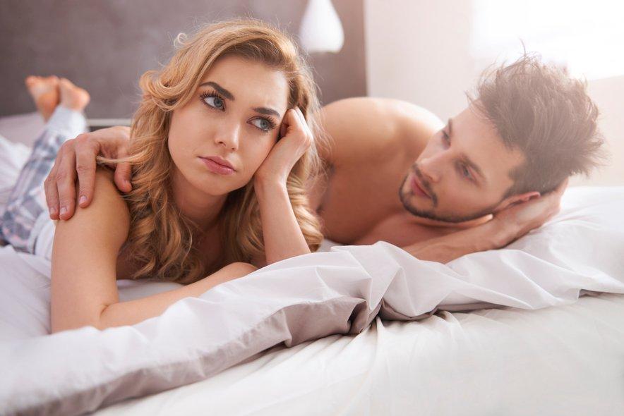 moški in ženska, erekcija