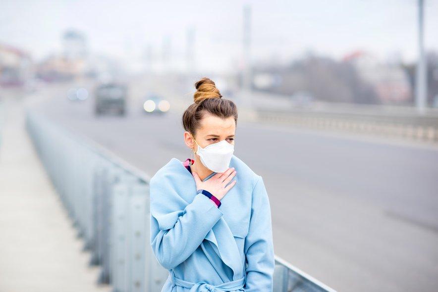 ''Kajenju se lahko izognemo, onesnaženemu zraku pa se ne moremo.''