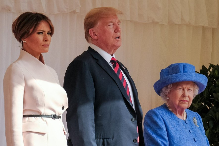 Ko je Donald Trump leta 2016 postal ameriški predsednik, je Melania dobila naziv prve dame ZDA.