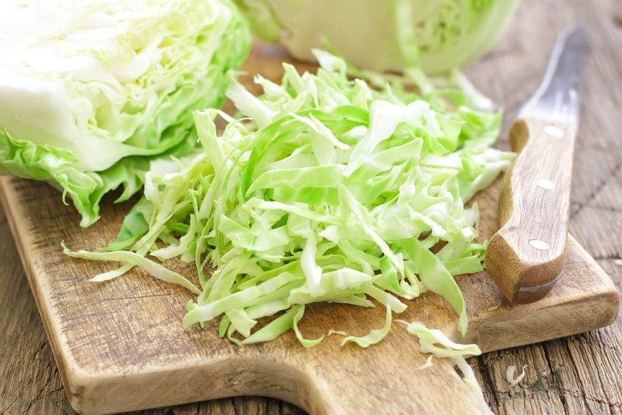 Z zeljem zaužijemo veliko vitamina C.