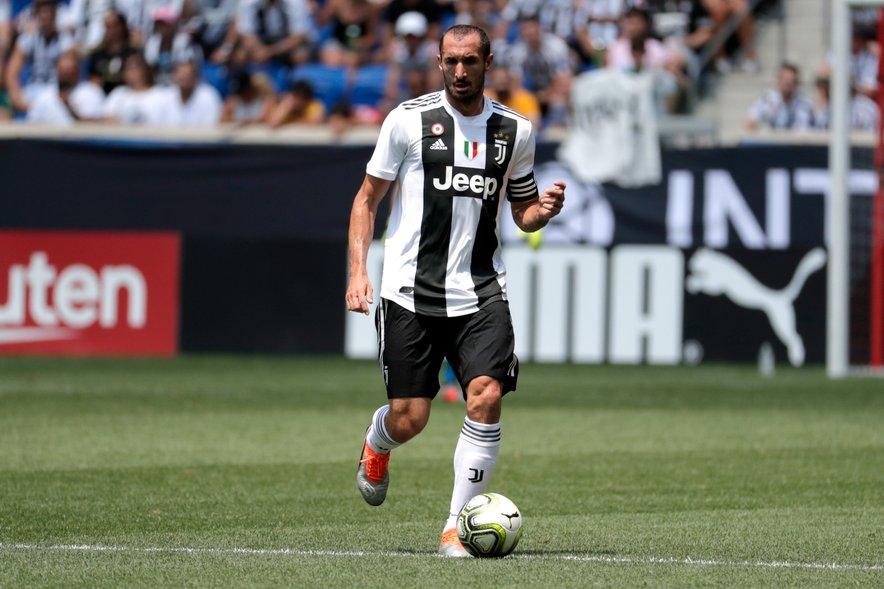 Giorgio Chiellini ostaja v Torinu do konca sezone 2020/2021.