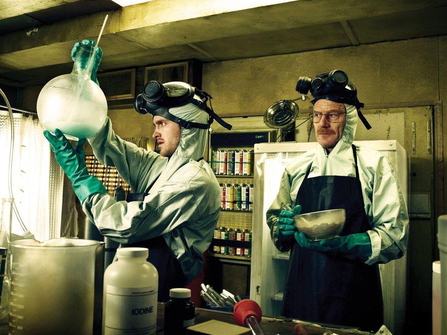 Walter White in Jesse Pinkman v elementu