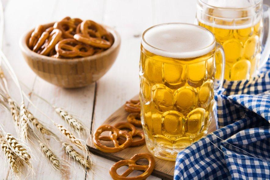 Pivo in slani prigrizki so najboljši par.