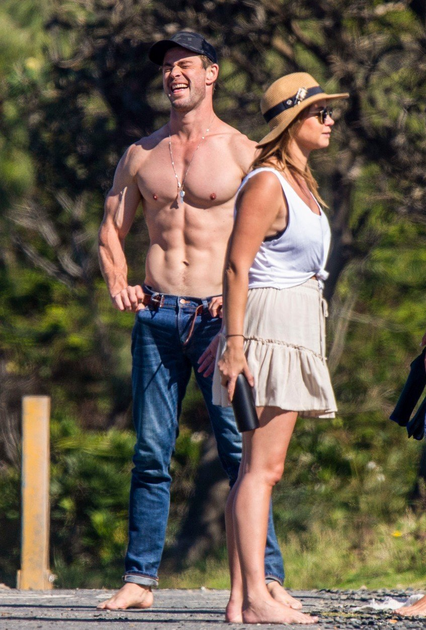 Liam in Chris Hemsworth